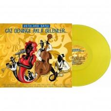 Çeşitli Sanatçılar -  Caz Denince Akla Gelenler Sarı Renkli Plak LP Diğer Plak