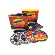 Led Zeppelin ‎– Celebration Day Blu-ray + 2 CD + DVD Disk Blu-ray
