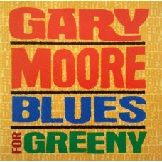 Gary Moore ‎– Blues For Greeny CD Rock CD