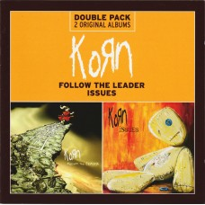 Korn ‎– Follow The Leader / Issues 2 CD  Metal CD