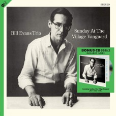 Bill Evans Trio - Sunday At The Village Vanguard Plak  LP + Bonus CD
