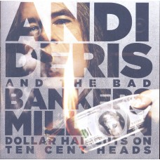 Andi Deris And The Bad Bankers – Million Dollar Haircuts On Ten Cent Heads Plak LP Metal Plak