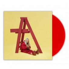 Billie Eilish – Don't Smile At Me (Kırmızı Renkli) Plak LP Pop-Soul Plak