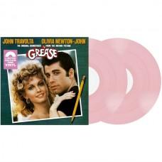 Grease Soundtrack (Pembe Renkli) Plak 2 LP Soundtrack Plak